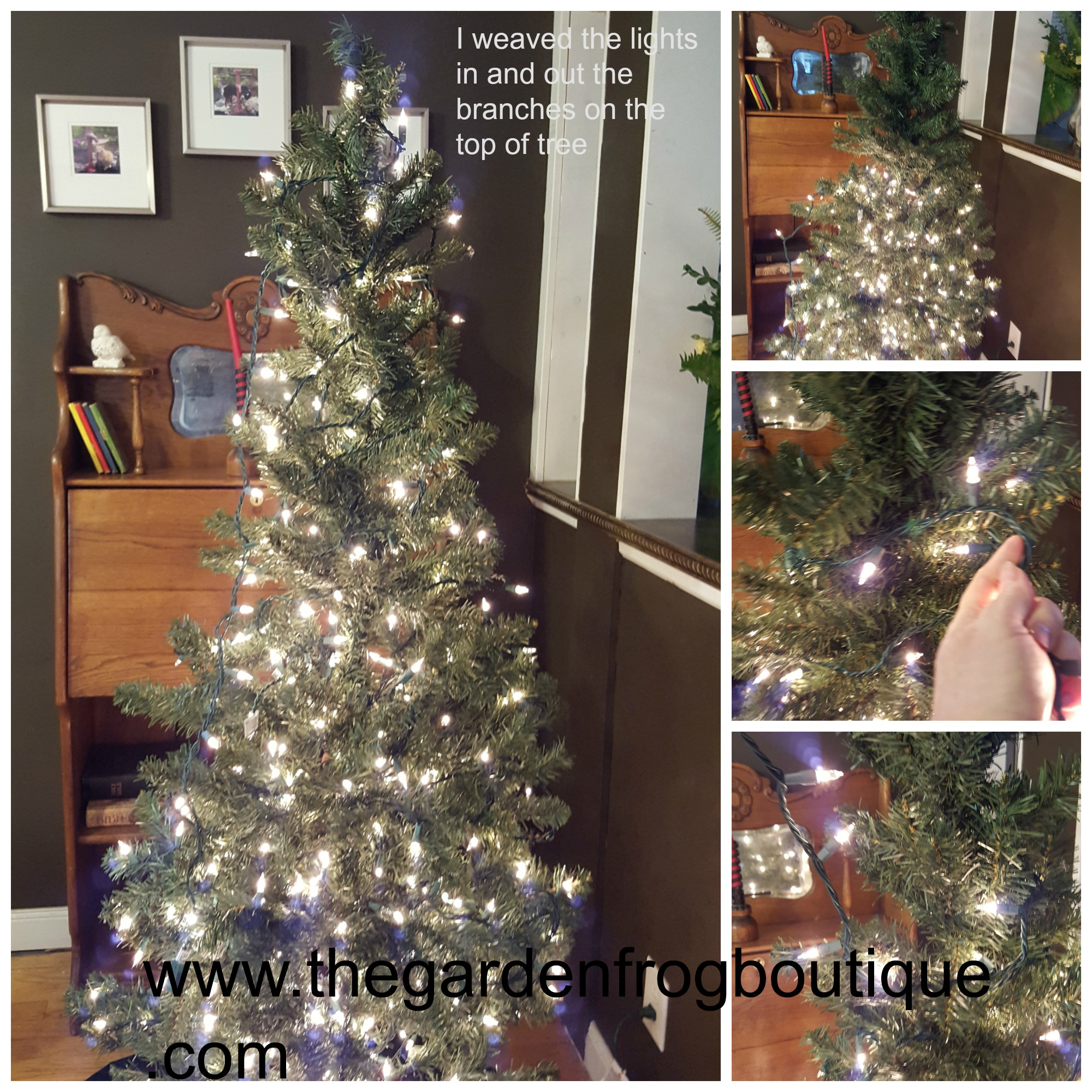 How To Put Lights On A Christmas Tree Fabulous Img With