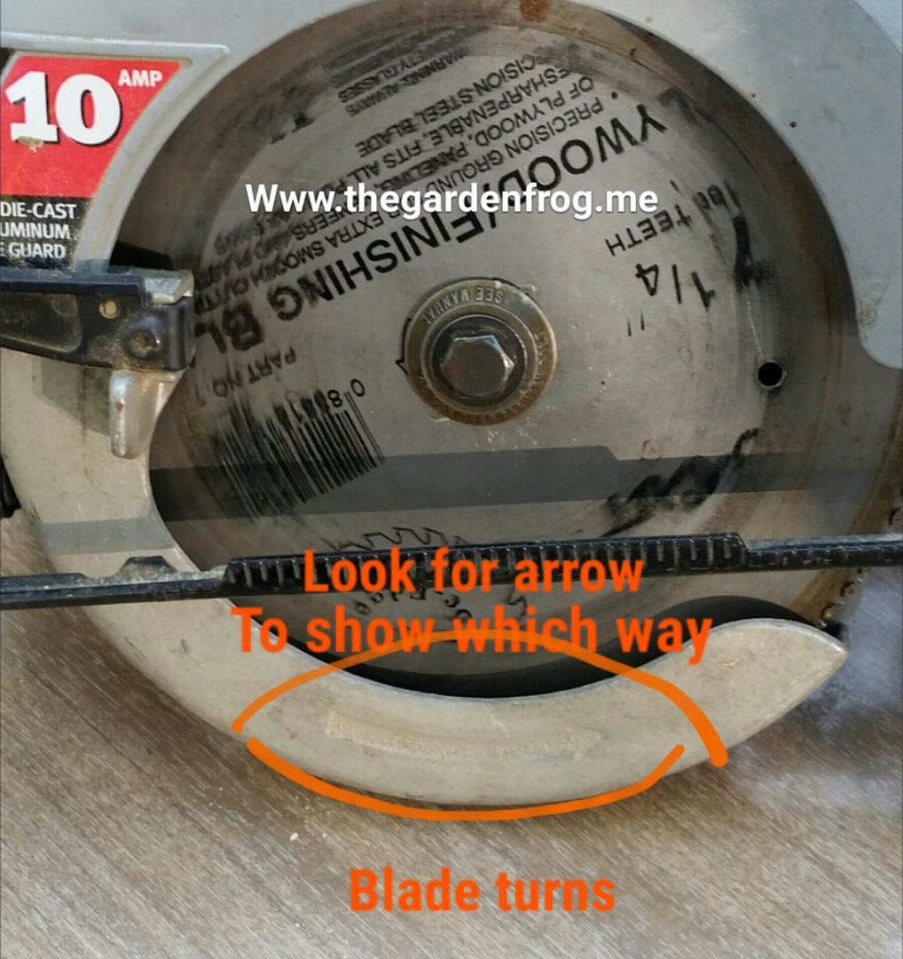 How to change a circular saw blade