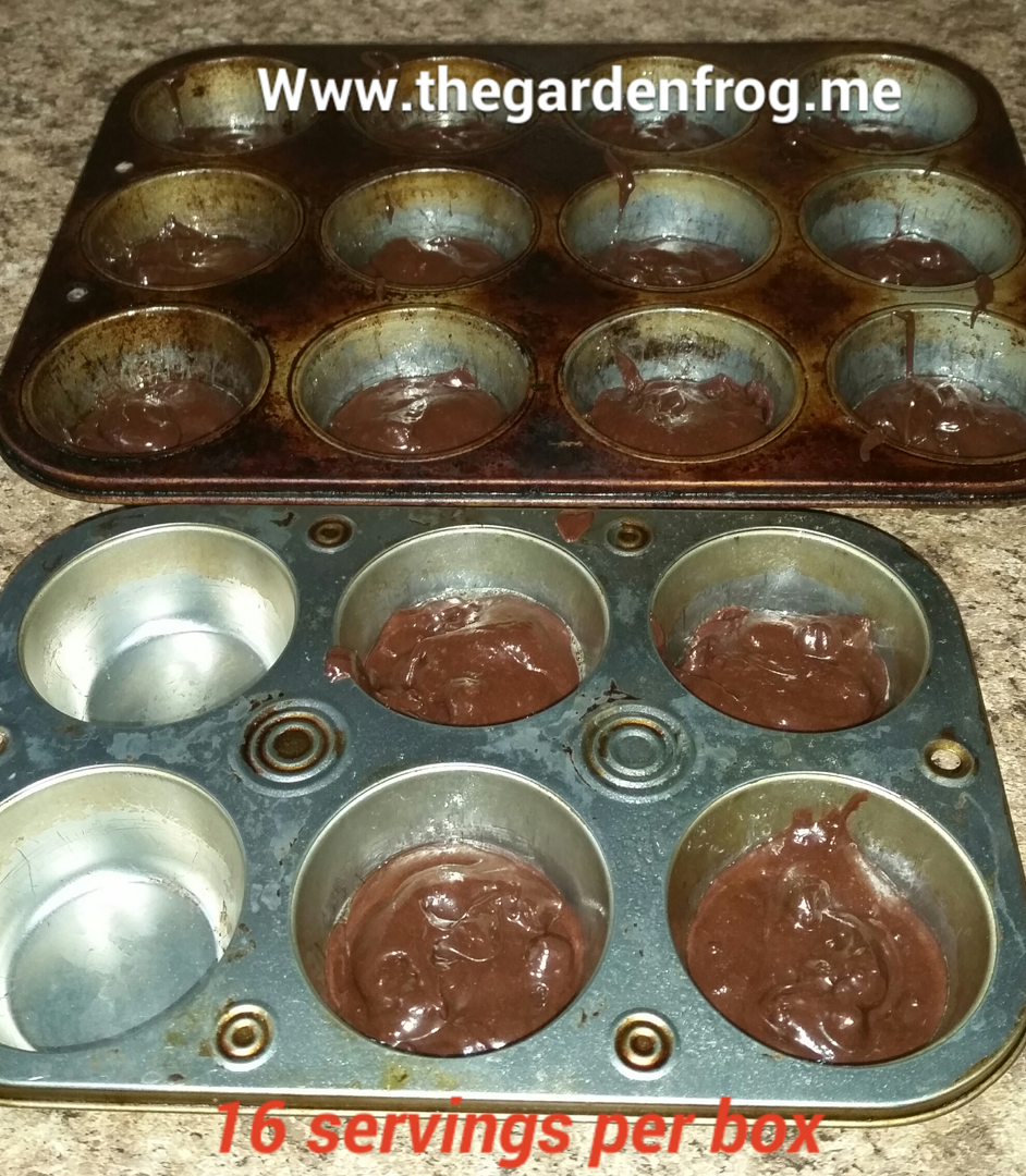Ghirardelli brownies Almost homemade muffin tin browinies