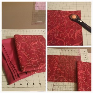 No Sew Christmas Placemat For Furniture