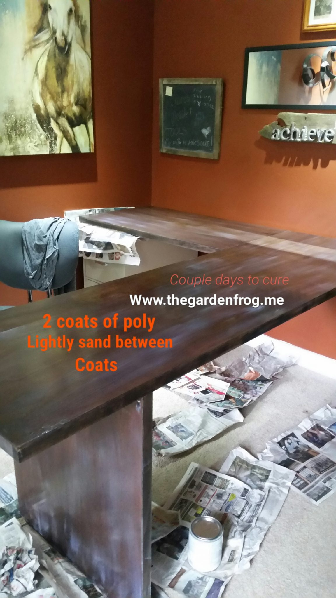 Build A Wood L Shaped Desk For Under 50 The Garden Frog
