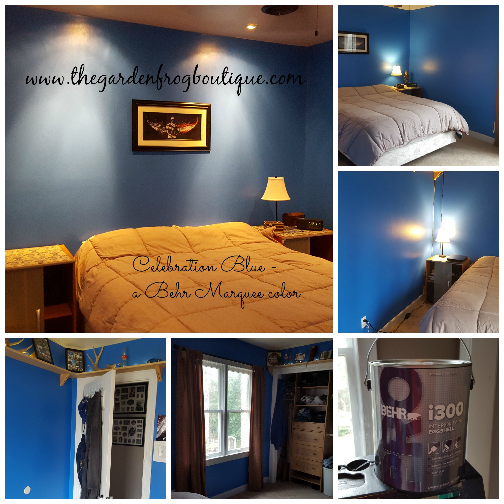 My teenage son 39 s bedroom makeover with behr pro i300 for Behr pro paint