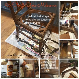 Don't Paint that Dining Room Chair-Restore It, Gorilla Wood Glue