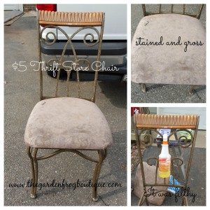 metal chair makeover with rustoleum hammered spray paint. Black Bedroom Furniture Sets. Home Design Ideas
