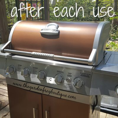 Kitchen tip: Clean your grill after each use