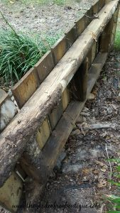Garden Project: rustic-wood-fence-picket-garden-bridge