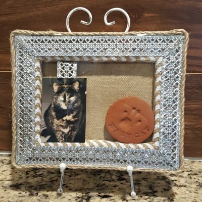Create a Pet Memorial Shadowbox