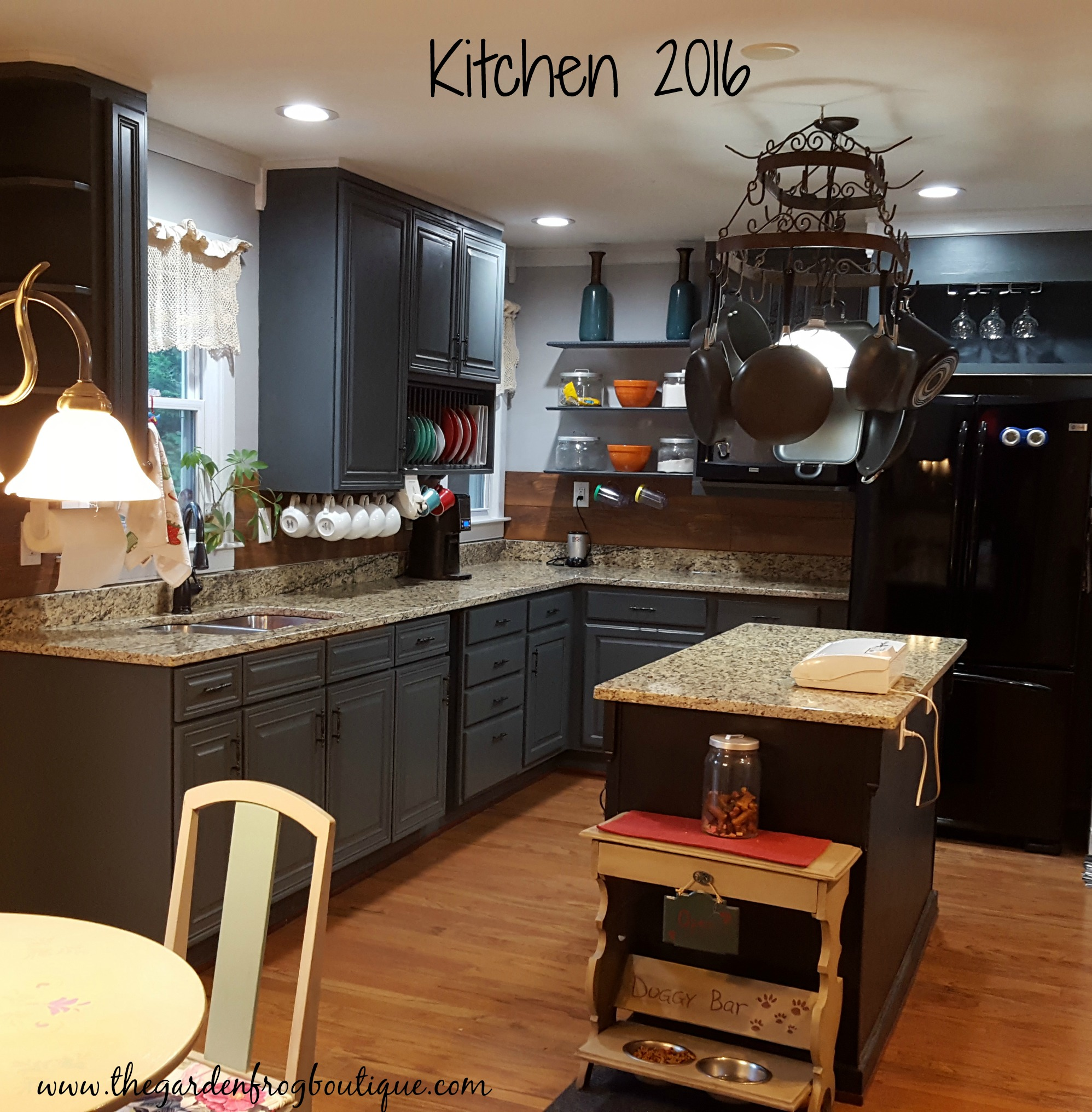 Kitchen makeover on a tight budget the garden frog boutique for New kitchen on a tight budget
